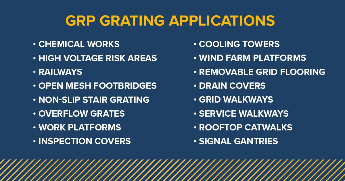 grp grating advantages