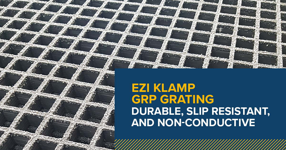 GRP grating