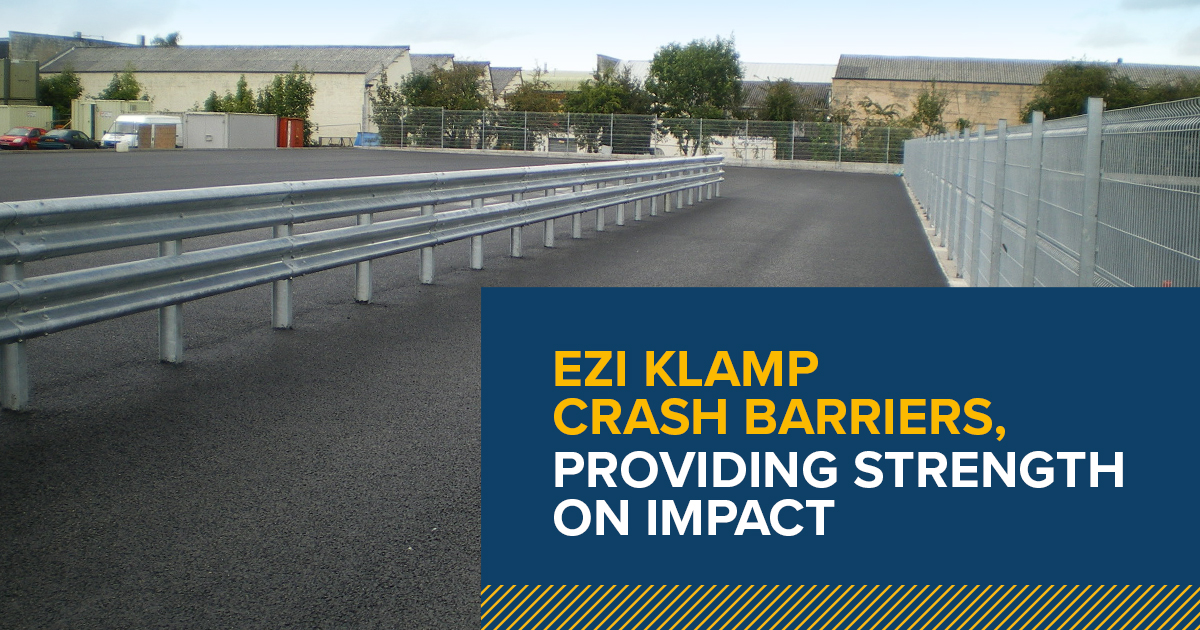 Armco crash barriers - providing strength on impact