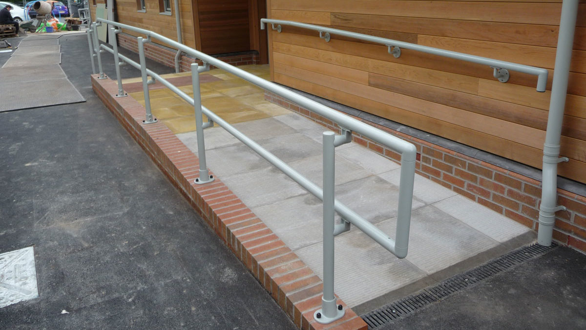 From quote to site: we offer the complete handrail service!