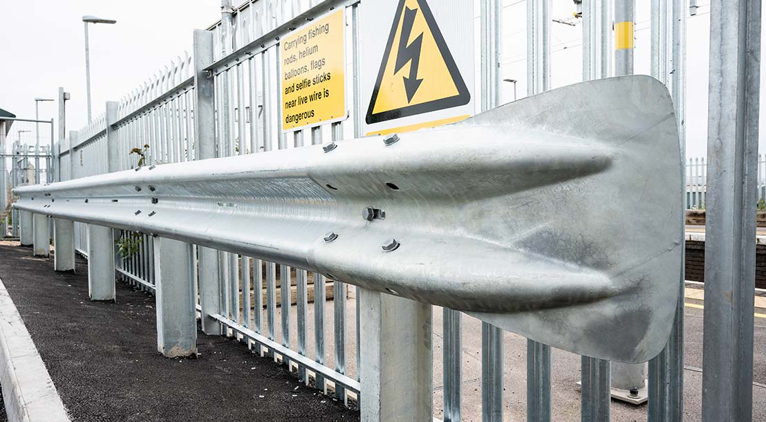 Crash barriers from Eziklamp
